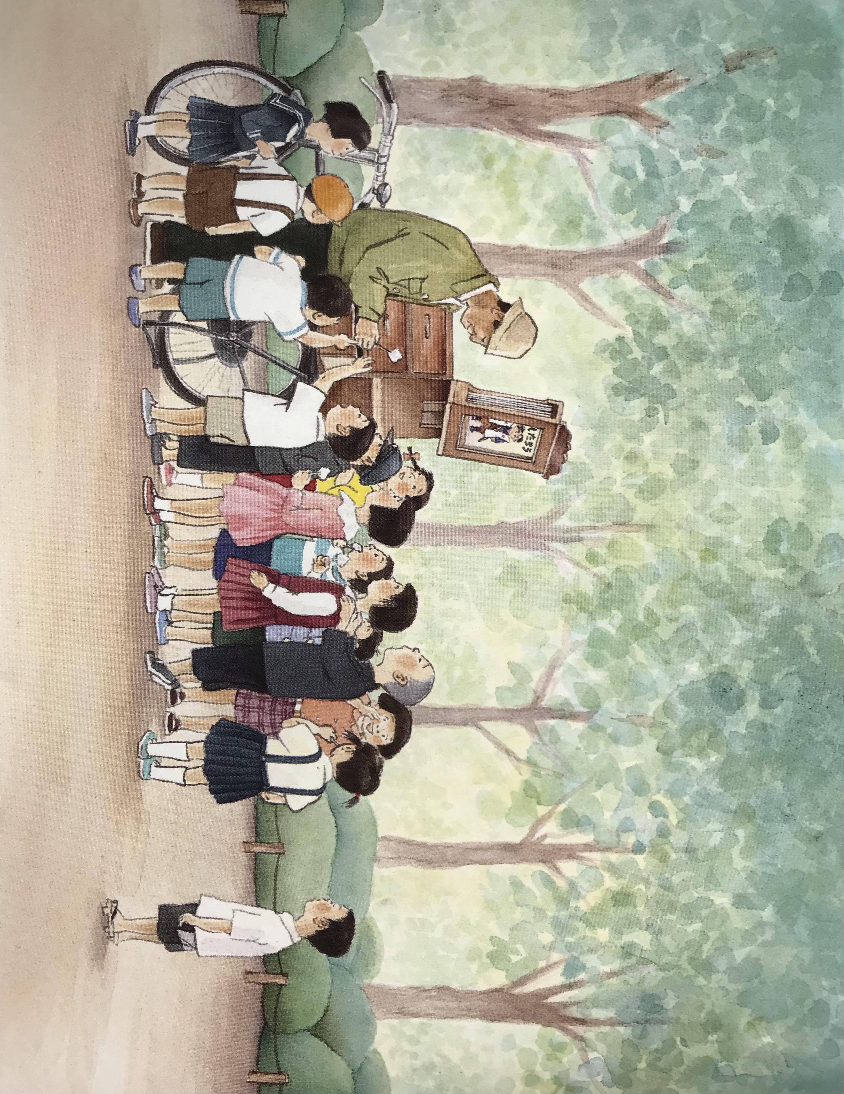 Lecture-Kamishibaï pour enfants |